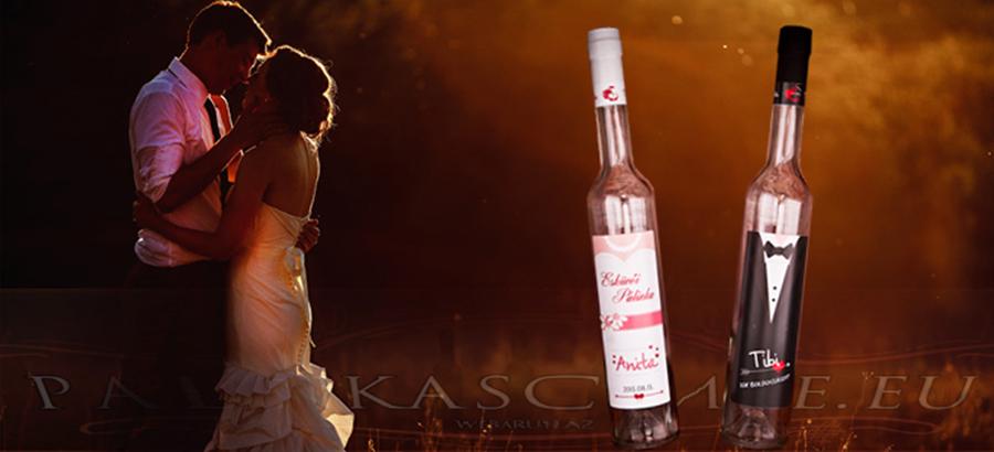 Esküvői címke szett