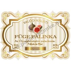 """Füge pálinka címke - """"Golden Age"""""""