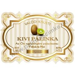 """Kivi pálinka címke - """"Golden Age"""""""