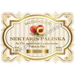 "Nektarin pálinka címke - ""Golden Age"""