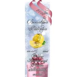 "Birs alma karácsonyi pálinka címke - ""Xmas Cold"""