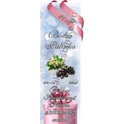 """Bodza karácsonyi pálinka címke - """"Xmas Cold"""""""