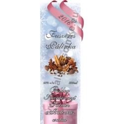 """Fűszeres karácsonyi pálinka címke - """"Xmas Cold"""""""
