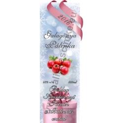"Galagonya karácsonyi pálinka címke - ""Xmas Cold"""