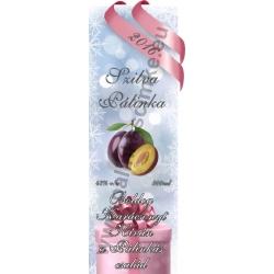 """Szilva karácsonyi pálinka címke - """"Xmas Cold"""""""