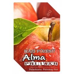 "Alma pálinka címke - ""FRUCTUS"""
