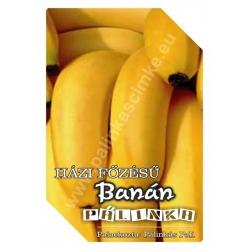 "Banán pálinka címke - ""FRUCTUS"""