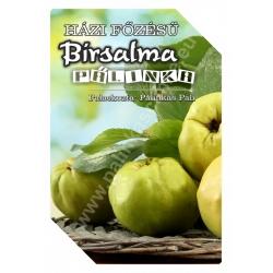 "Birsalma pálinka címke - ""FRUCTUS"""