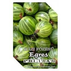 """Egres pálinka címke - """"FRUCTUS"""""""