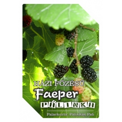 """Faeper pálinka címke - """"FRUCTUS"""""""