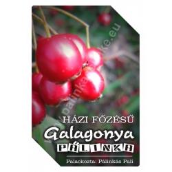 "Galagonya pálinka címke - ""FRUCTUS"""