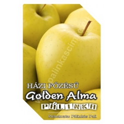 "Golden alma pálinka címke - ""FRUCTUS"""