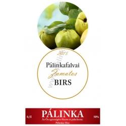 """Birsalma pálinka címke szett - 2 részes - """"CIRCULAR"""""""