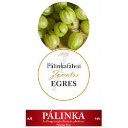 """Egres pálinka címke szett - 2 részes - """"CIRCULAR"""""""