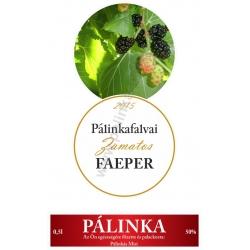 """Faeper pálinka címke szett - 2 részes - """"CIRCULAR"""""""