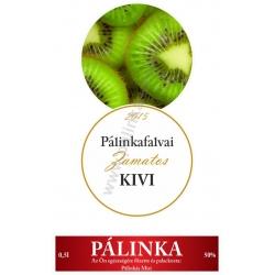 """Kivi pálinka címke szett - 2 részes - """"CIRCULAR"""""""