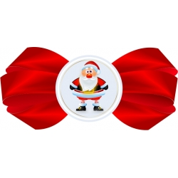 "Nyak címke - ""Santa"""