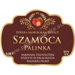 "Szamóca címke - ""Superb"""
