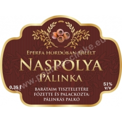 "Naspolya címke - ""Superb"""