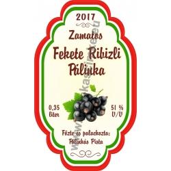 """Fekete Ribizli címke - """"Perfekt"""""""