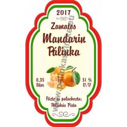 """Mandarin címke - """"Perfekt"""""""