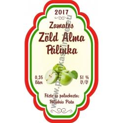 """Zöld Alma címke - """"Perfekt"""""""