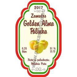 """Golden Alma címke - """"Perfekt"""""""