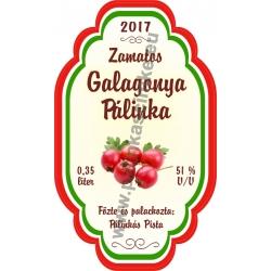 "Galagonya címke - ""Perfekt"""