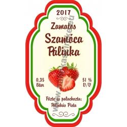 """Szamóca címke - """"Perfekt"""""""