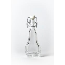 Körte 0,04 literes csatos díszüveg palack