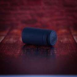 Mini Kapszula pálinkás üveghez - fekete