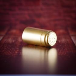 Mini Kapszula pálinkás üveghez - arany