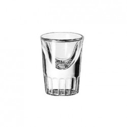 LIBBEY FLUTED TALL WHISKEY pohár 3 cl