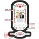Esküvőre pálinkás címke szett - Népies
