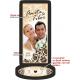 Esküvőre fényképes pálinkás címke szett - Dekoratív
