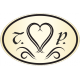 Ovális Nyak címke - Esküvőre - arany Homokfúvott fólia