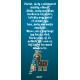 """Karácsonyi pálinka címke - """"Christmas deer"""" hátcímke"""