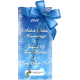 """Karácsonyi pálinka címke - """"Xmas blue"""" hátcímke"""