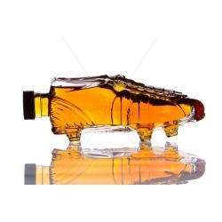 Foci cipő 0,2l díszüveg palack