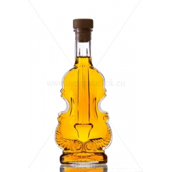 Hegedű 0,2l csatos díszüveg palack