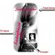 Leány búcsúra pálinkás címke - homokfúvott fólia