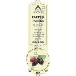 "Faeper pálinka címke - ""SLIM DECOR"""