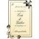 Esküvőre pálinkás címke - arany homokfúvott fólia