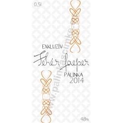 """Faeper pálinka címke - """"EXCLUSIVE"""""""