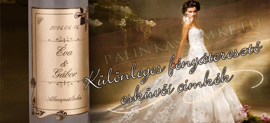 Esküvői címkék